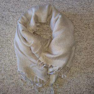 J Jill soft linen viscose scarf